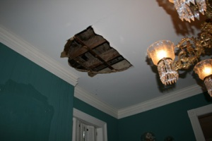 Interior Storm Damage