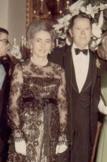 Mrs. Maggie Block with Walter Mathis