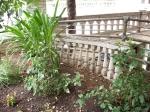 The Havana's front garden