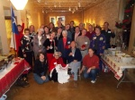 Volunteer Christmas party, December 2010.