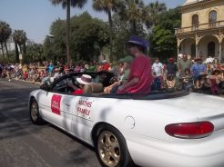 Villa Finale as Grand Marshals of the King William Parade, April 2011.
