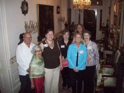 Volunteers at our opening celebration, September 2010.