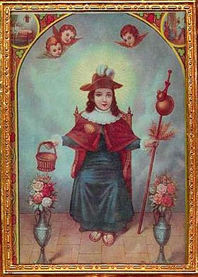 Santo_Niño_de_Atocha,_traditional_portrayal