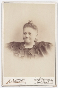 Johanna Steves undated