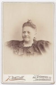 Johanna Steves undated